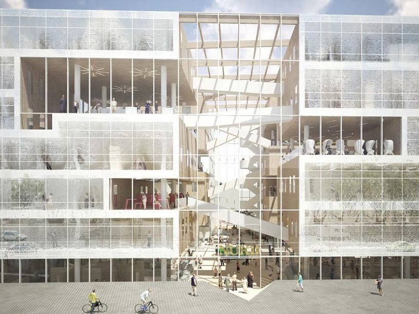 Nl architects nukii library ljubljana ideas for Form space and design architects