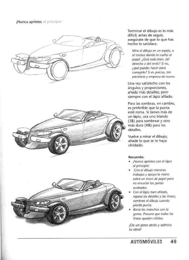 como dibujar autos paso a paso - Taringa! | Anatomia | Pinterest ...