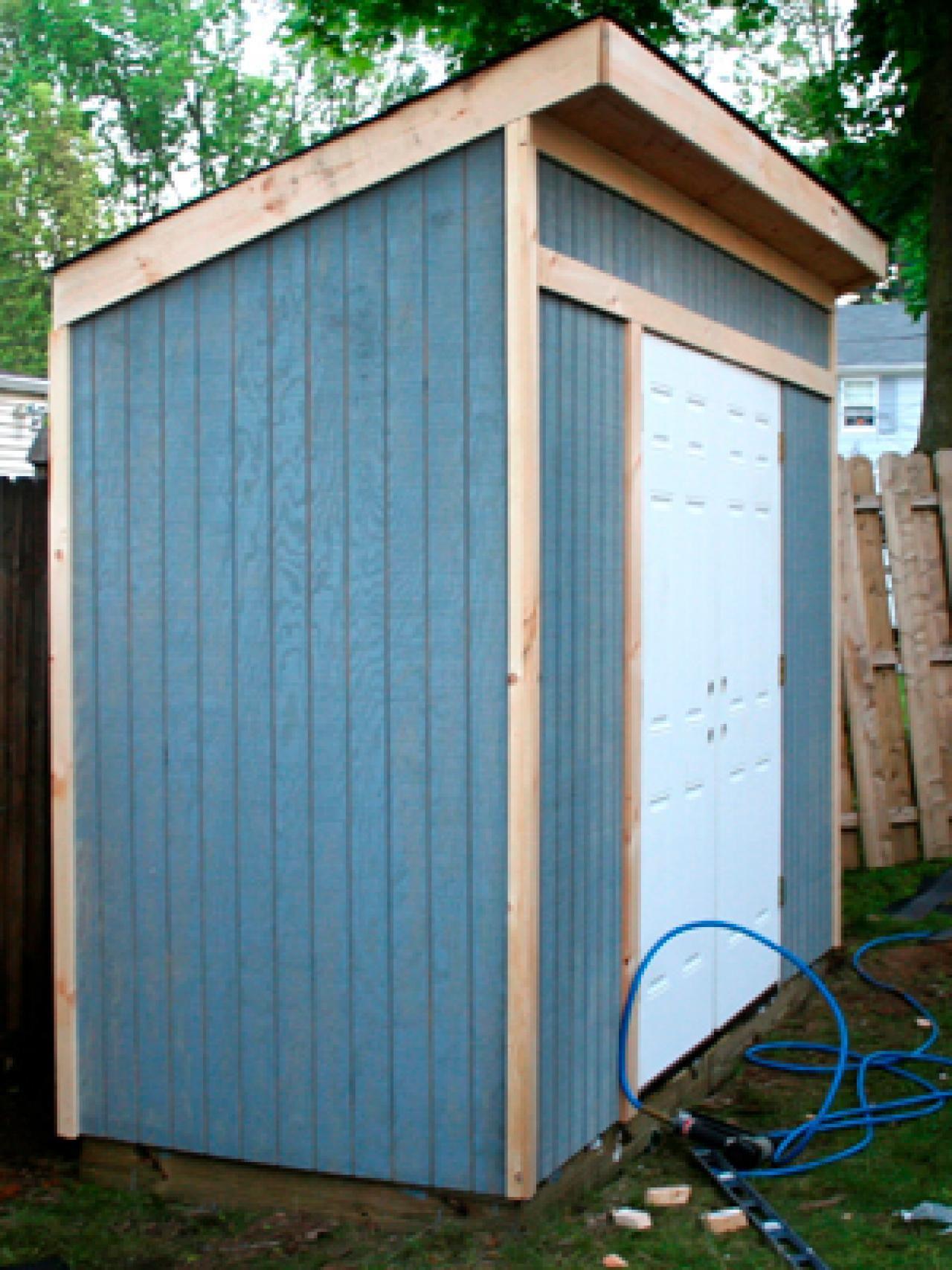 Storage Shed for Garden Tools u003eu003e