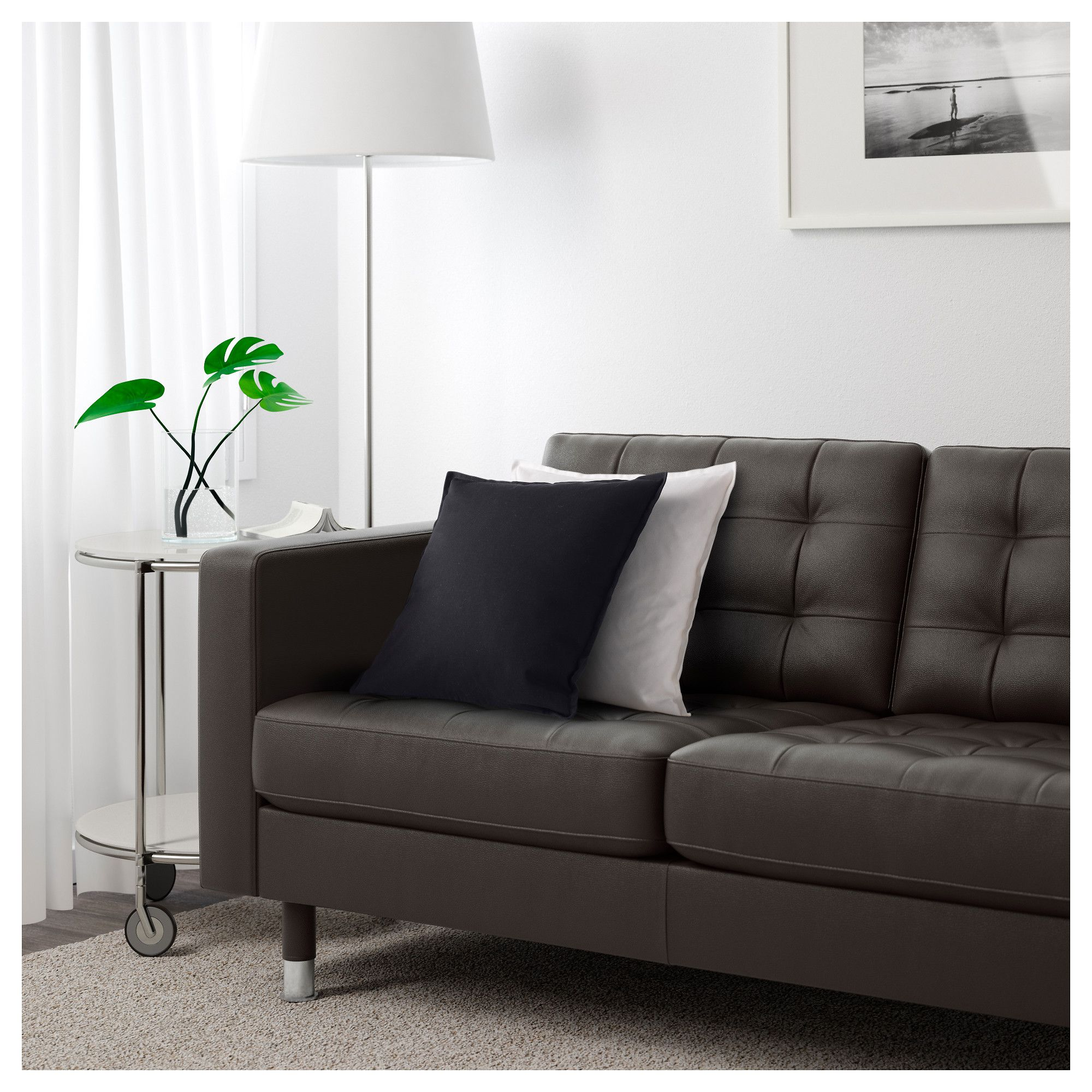 Sofa Table IKEA LANDSKRONA three seat sofa and chaise longue