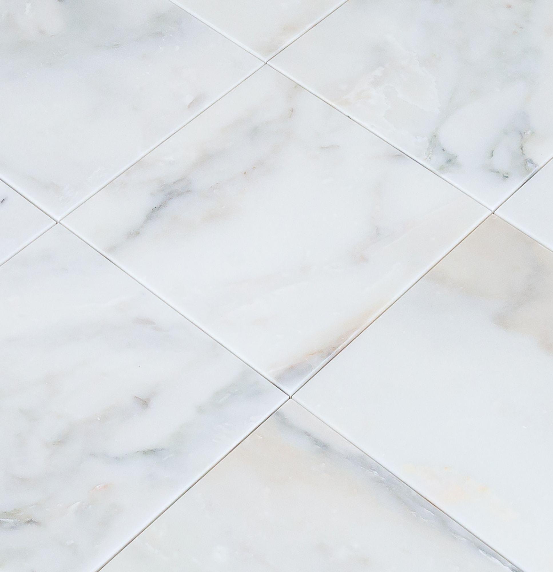 Marble Tile - Polished - Giallo Calacatta / 12\