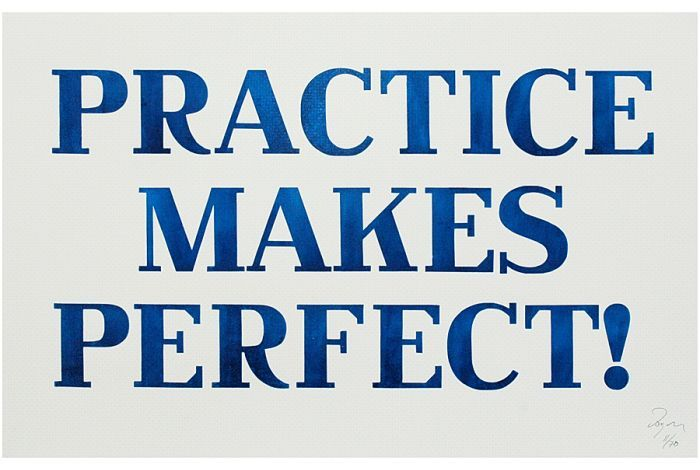 practice makes a man perfect speech Practice makes perfect definition: said to encourage someone to continue to do something many times, so that they will learn to do it very well learn more.