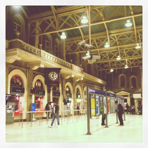 Charing Cross Railway Station CHX in London Greater London