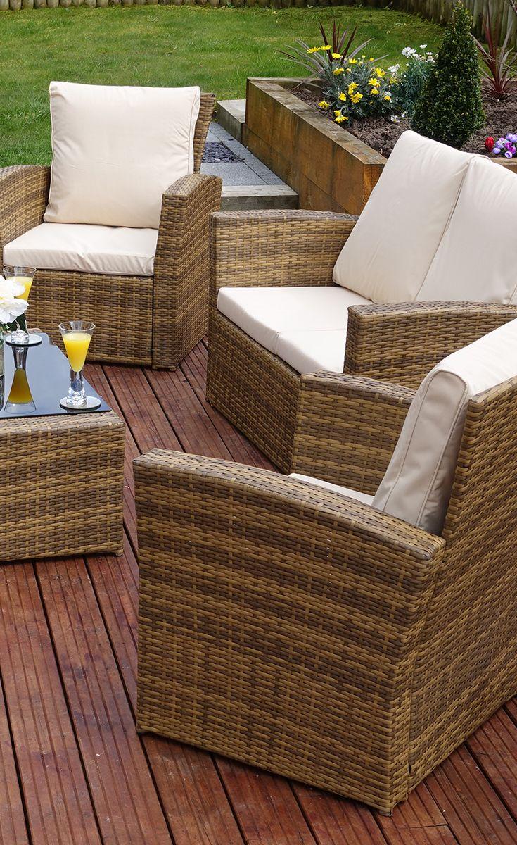 rattan-gardenfurniture.co.uk | Brown Rattan Garden Furniture Sets ...