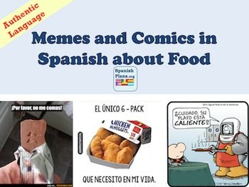 Spanish Memes And Comics About Food Learning Spanish For Kids Learning Spanish Spanish Food Unit