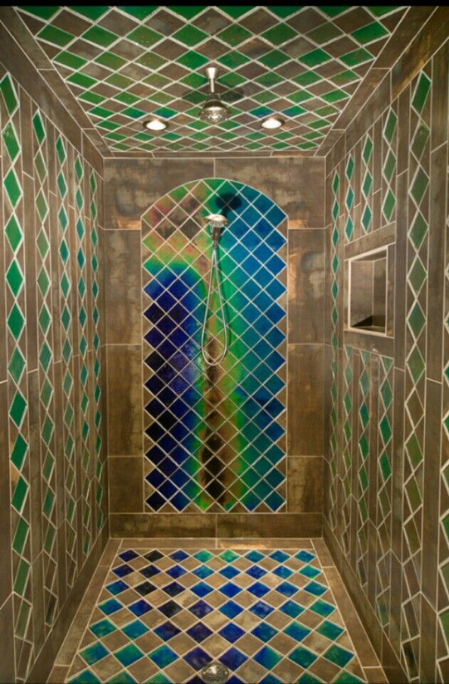 Color Changing Tiles Great For A Shower Bathroom Tile Color