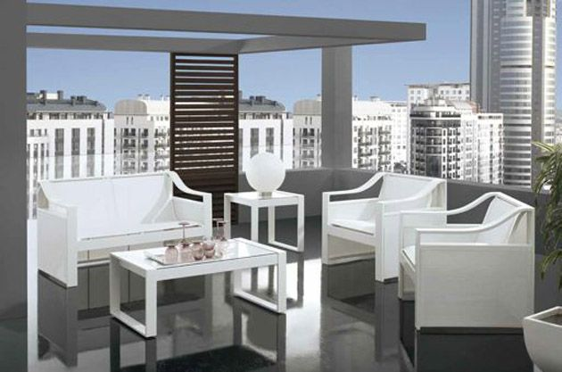 Mobiliario para Exterior en Aluminio BELLAGIO. Decoracion Beltran ...
