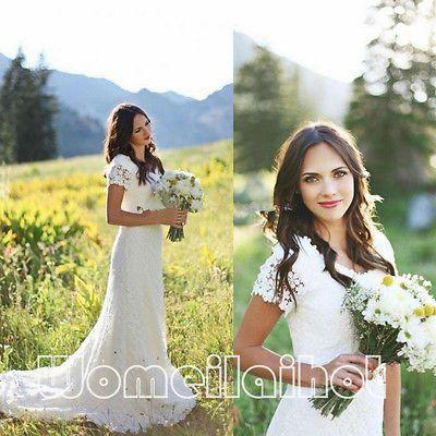 HOT 2016 Sexy Sheath White/Ivory Wedding Dress Bridal Gown Custom Plus Size 2-28 https://t.co/k0fvNFZKQ6 https://t.co/PiLukbc231