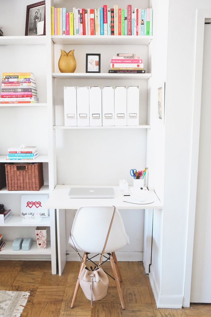 Small Space Home Office Solutions | Small spaces, Spaces and Desks