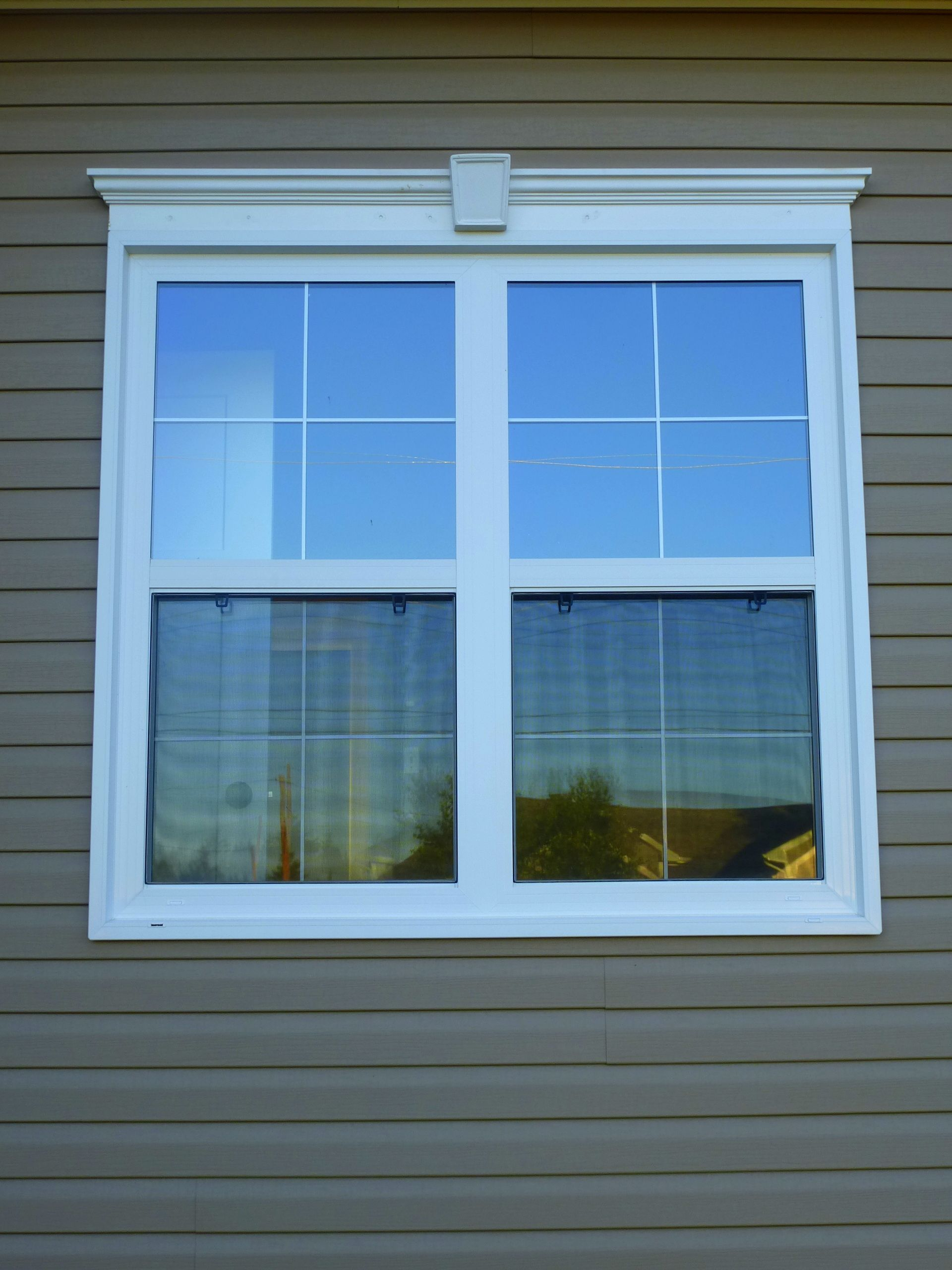 Cellular pvc window construction and technology - New Home Construction Using Kaycan Vinyl Siding Allweather Windows Doors Available At