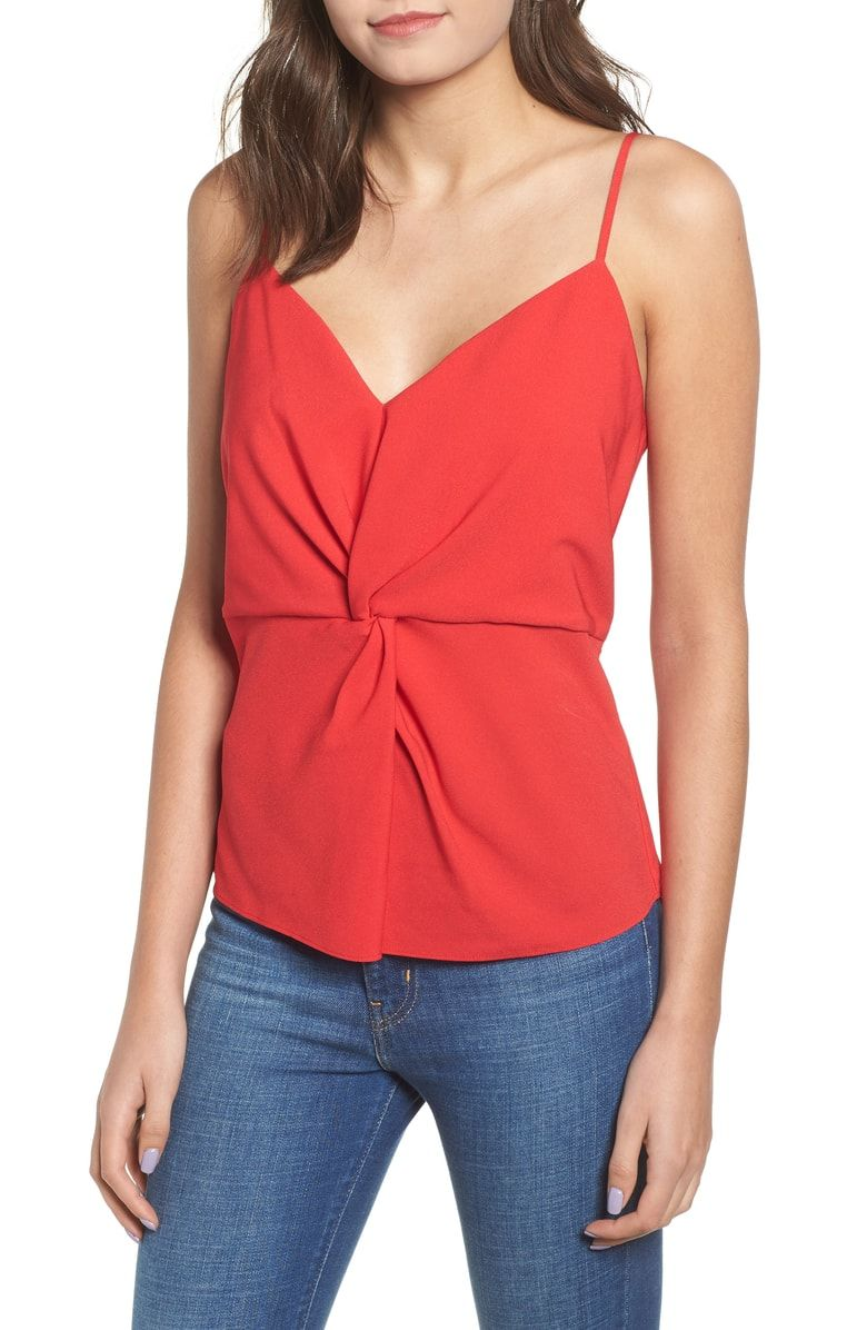 Free Shipping And Returns On Leith Twist Front Camisole At