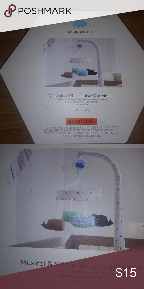 Cloud Island Musical /& White Noise Crib Mobile