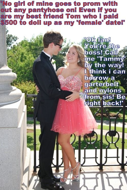 After I agreed to go to the prom with him