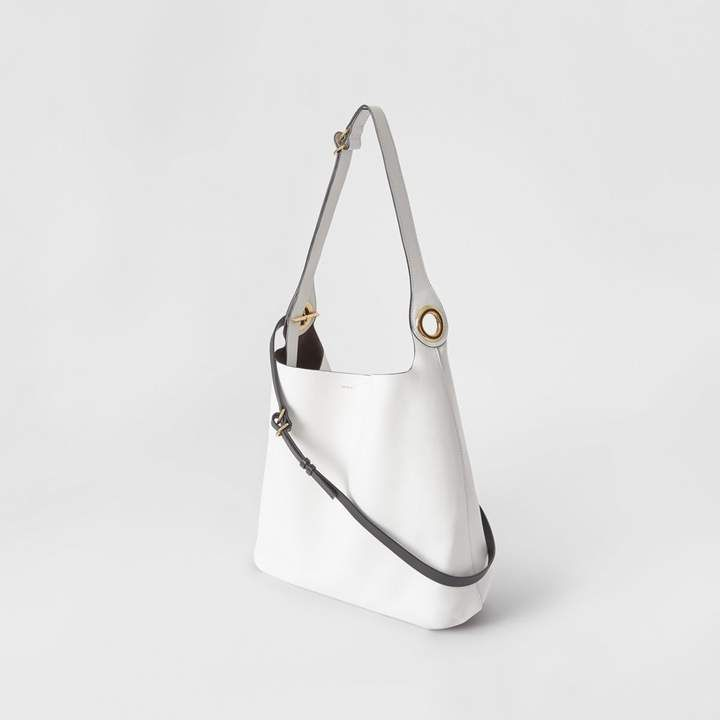 85262703a1 ShopStyle: Burberry The Leather Grommet Detail Bag   Beauty and ...