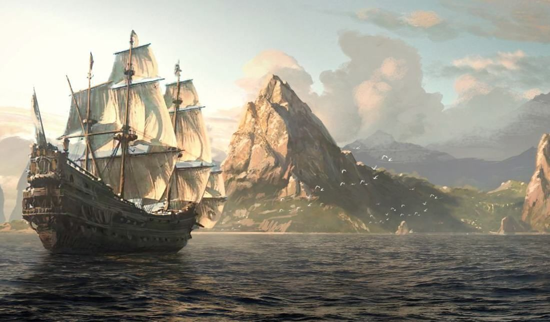 Assassin S Creed 4 Black Flag Aims To Refresh The Formula Assassins Creed Black Flag Concept Art World Assassin S Creed Black