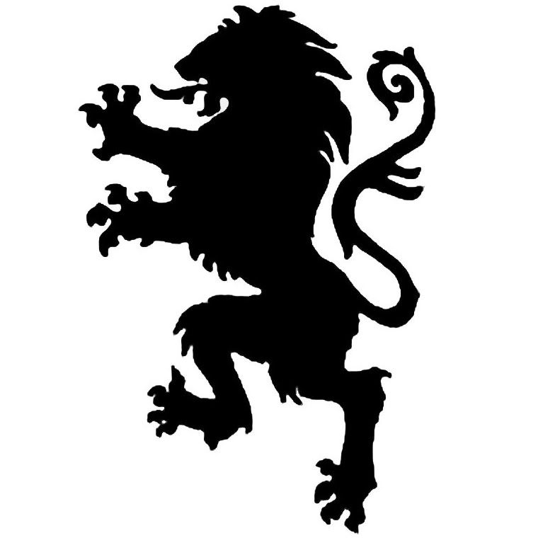 Lion Of Narnia With Images Animal Stencil Patterns