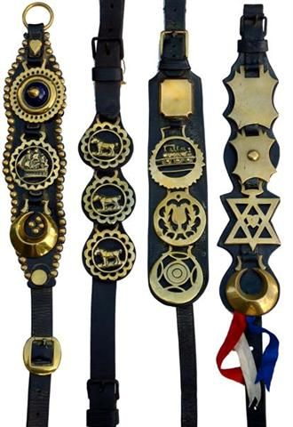 Real English Leather Martingale To Display Two Horse Brasses