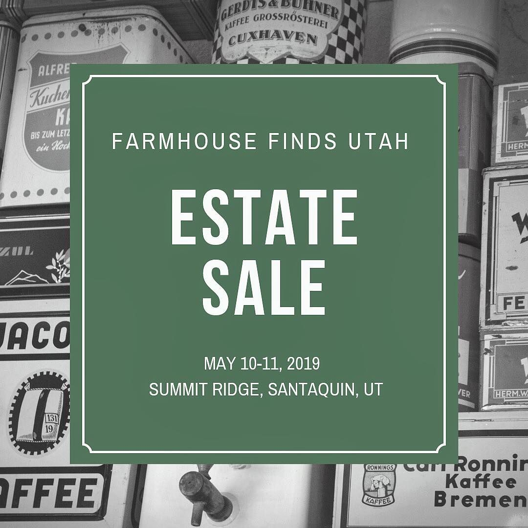 Shabby Chic Cuxhaven Save The Date May 10 11 2019 Farmhouse Finds Utah Will Be Having