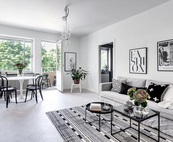 Svart marmorbord Jaguaren Soffbord, bord, marmor, svart, svart ram, möbler, inredning