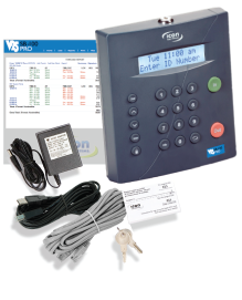 Icon Time Rtc 1000 Time Clock Calculator For Small Business