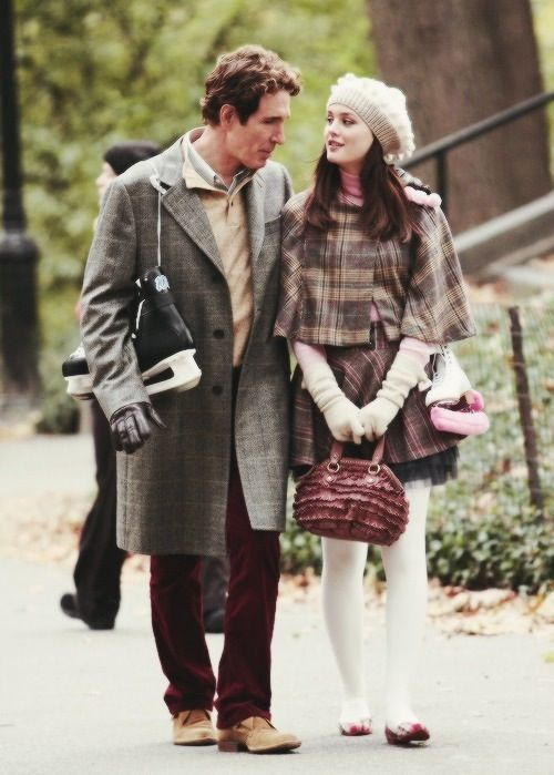 Blair With Her Father Tvfilm Blair Waldorf Gossip Girl Blair