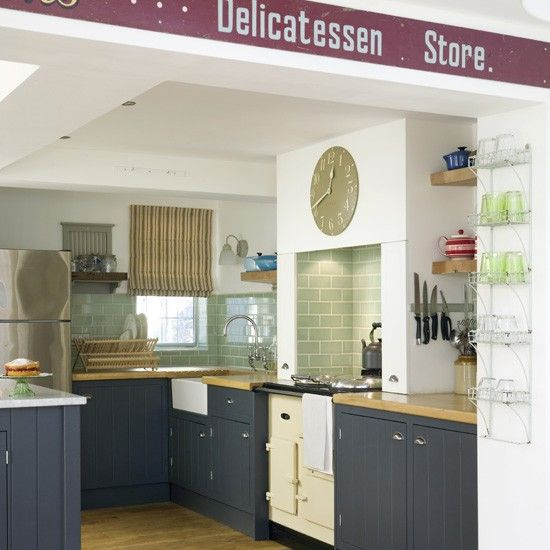 Modern Country Kitchen Blue blue country kitchen | country kitchens | kitchen designs