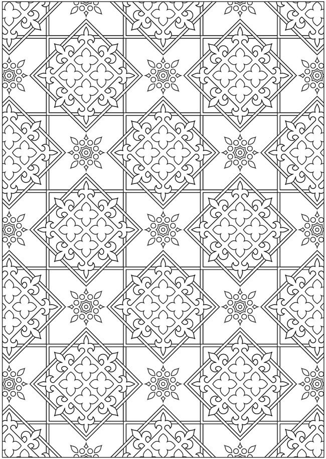 Welcome To Dover Publications Creative Haven Ornamental Designs Coloring Book More