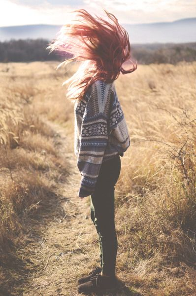 2. A favorite Fall accessory or fashion trend (aztec sweaters)