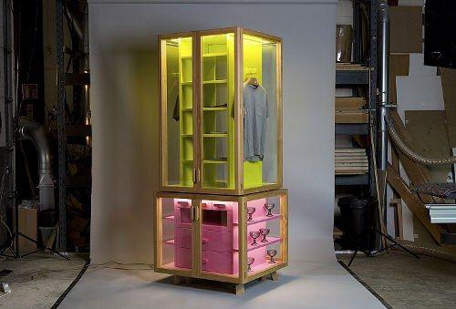 Wardrobe L Armoire Double Jeu Par Hierve Design De Magasin Mobilier De Salon Et Console Design
