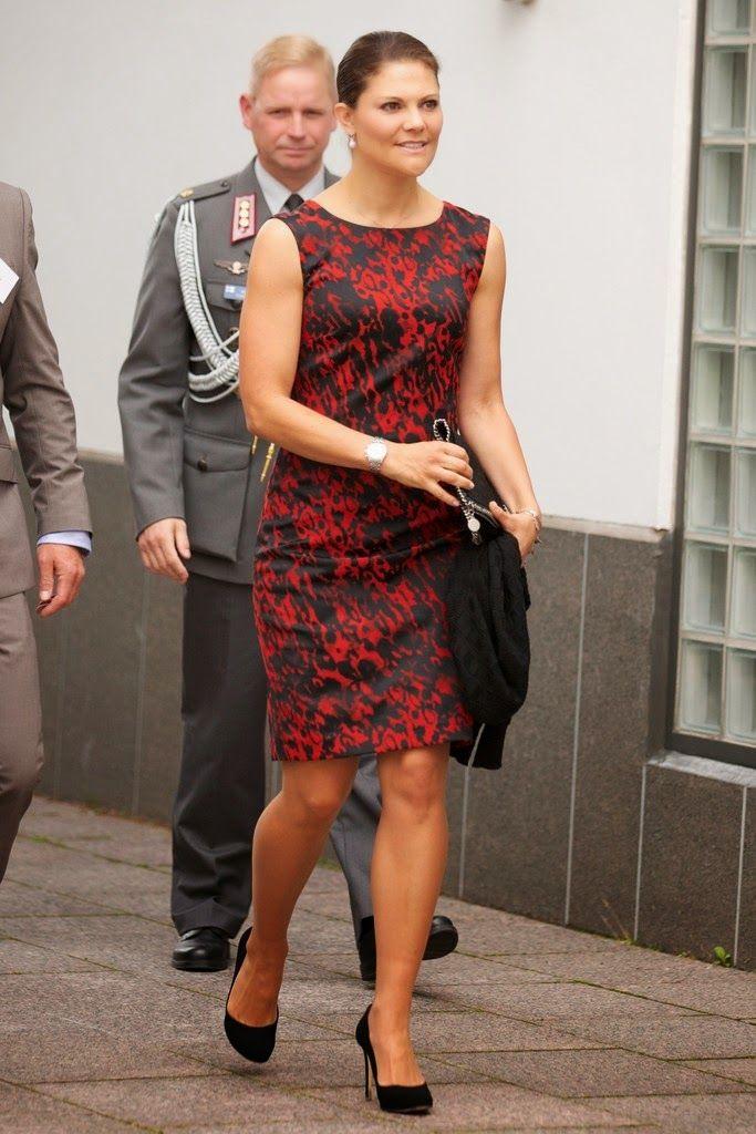 Crown Princess Victoria at seminar   MYROYALS &HOLLYWOOD FASHİON