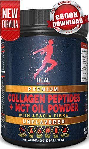 Collagen With MCT Oil Powder - Grass Fed Bovine