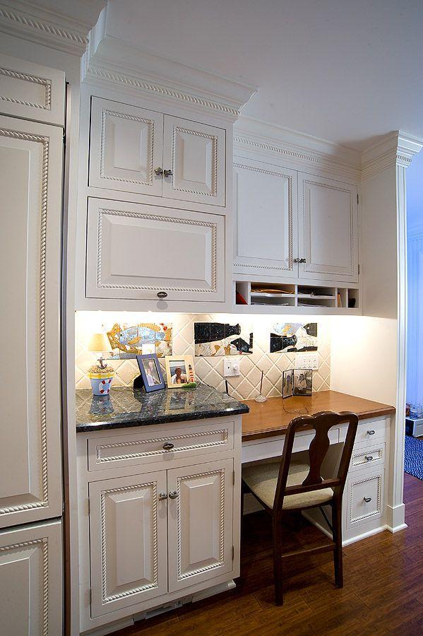 Small Desk Area Kitchen Office Nook Kitchen Desk Areas Kitchen