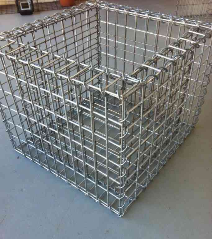 Build Your Gabion Planter Backyard Pinterest 400 x 300