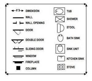Floor Plan Key Symbols Floor Plan Symbols Floor Plan Design Home Design Floor Plans