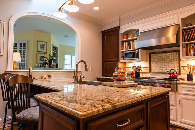 Custom L Shape Counter Tops Raleigh NC. Kitchen Design By JeanE Kitchen And  Bath Design Of Raleigh NC