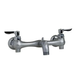 American Standard Exposed Yoke Wall Mount 2 Handle Utility Faucet