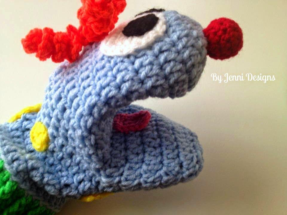 By Jenni Designs: Free Crochet Pattern: Little C\'s Silly Hand ...