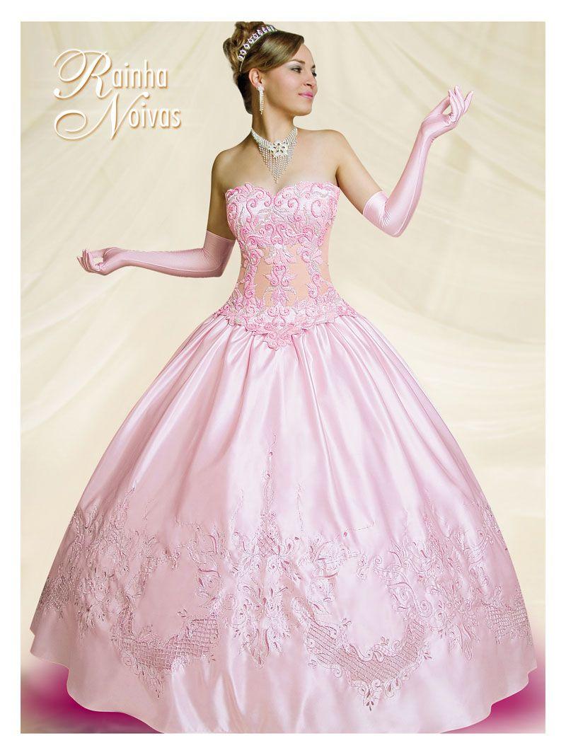 vestidos de debutantes rosa bebe 5.jpg (800×1067)   ♡ Wedding\'s ...