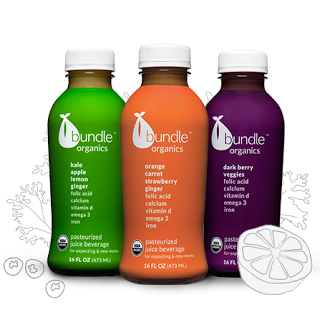 Bundle Organics Juices are perfect for pregnant and new moms! They contain ginger so they may even help ease nausea!