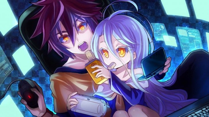Anime gaming girl wallpaper hd