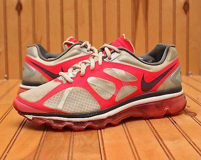 41f6726b69 2012 Nike Air Max+ Size 9 - Silver Pink White Grey - 487679 160 ...