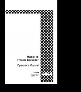 Best case ih t6 spreader tractor operators manual download