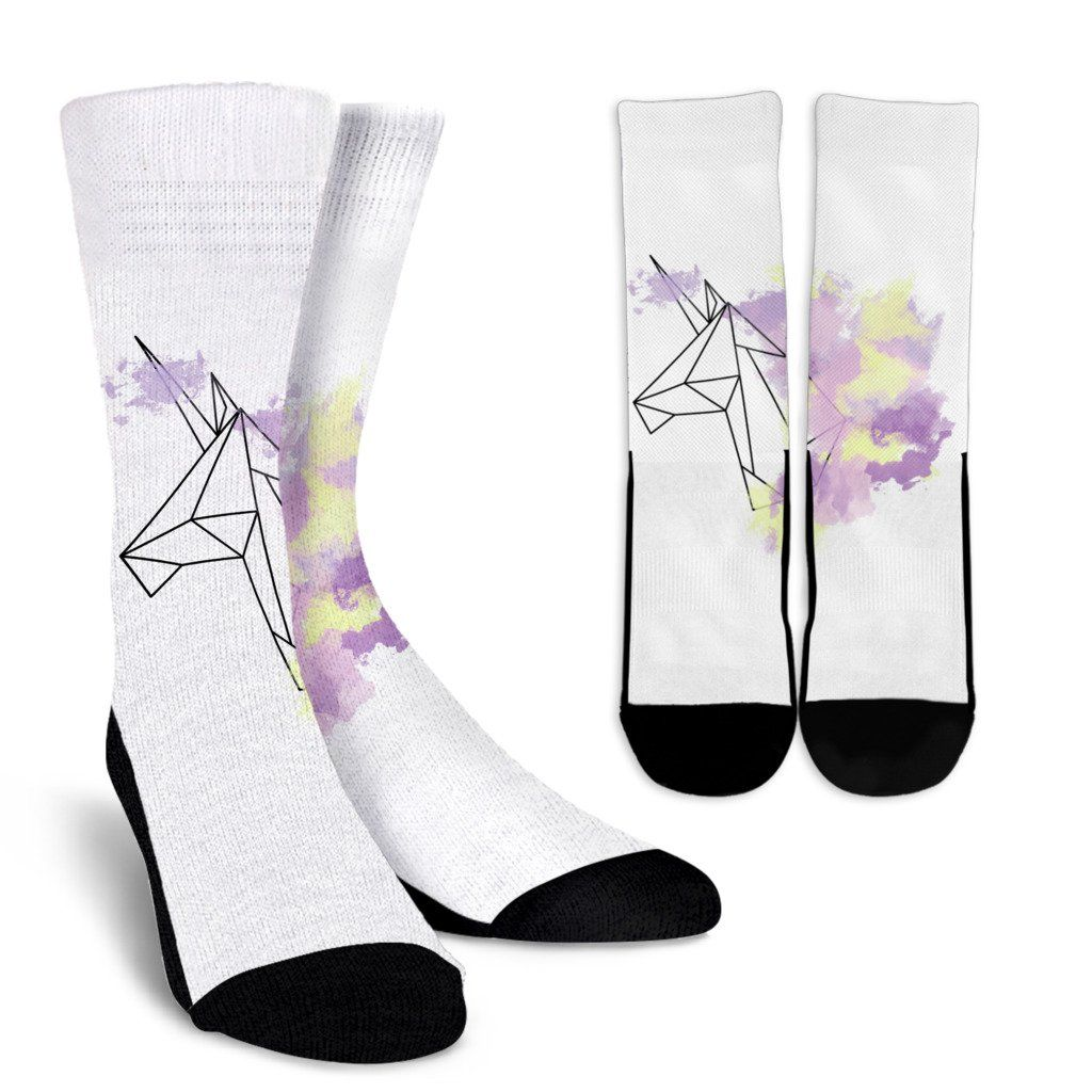 Purple dress socks  Unicorn White Socks  Unicorn  Pinterest  Unicorns Socks and Crew