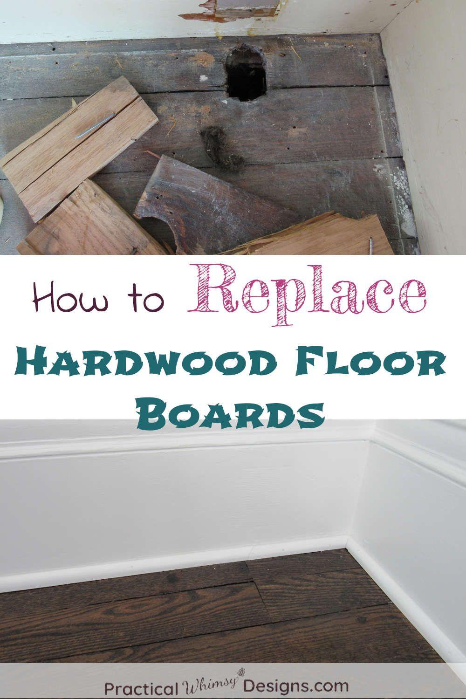 How To Replace Hardwood Floor Boards Diy Home Repair Diy House