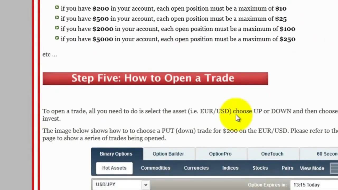 Binary options craigslist