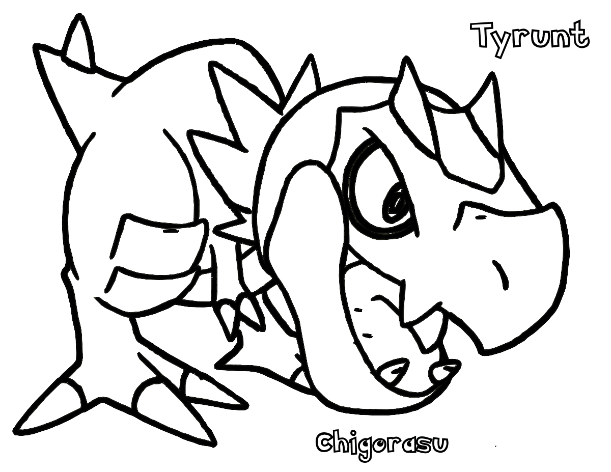 Pokemon Tyrunt Coloring Pages For Kids God Printable Pokemon Coloring Pages For Kids Pokemon Coloring Dinosaur Coloring Pages Pokemon Coloring Pages [ 927 x 1200 Pixel ]