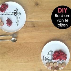 DIY: Bord om van te bijten