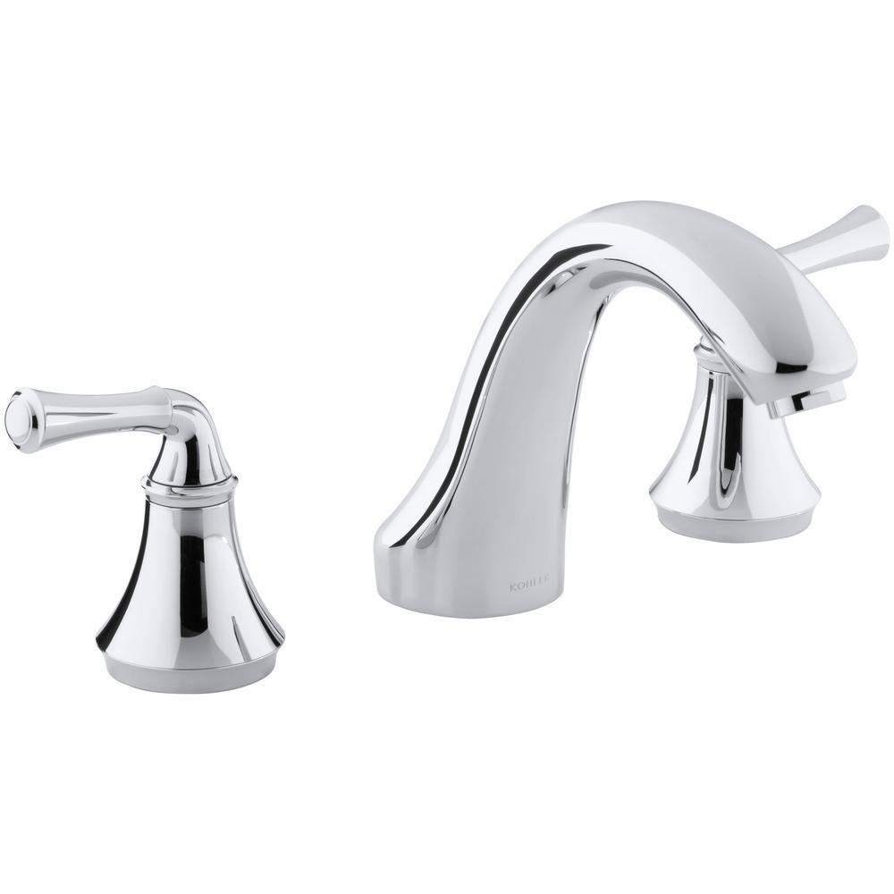 Kohler Forte 8 In 2 Handle Bath Mount Deck Mount Bathroom Faucet
