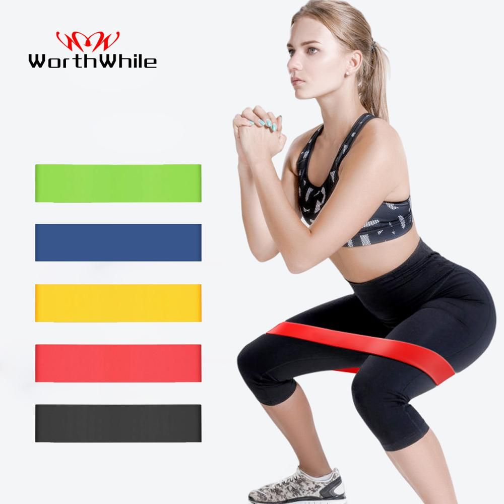 New Latex Resistance Bands Assisted Pull Up Power Exercise Stretching Yoga Gym
