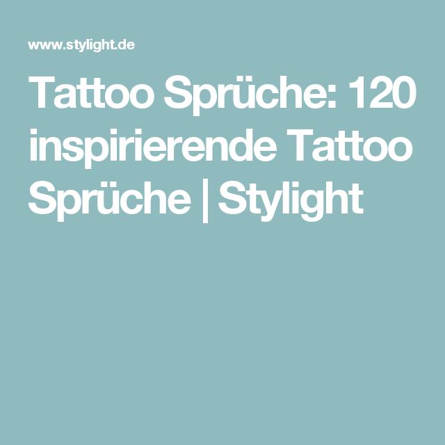 Tattoo Sprüche: 120 Inspirationen für dein nächstes Tattoo